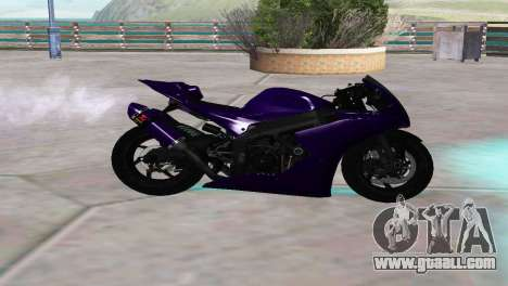 Aprilia RSV4 SPORTS for GTA San Andreas left view
