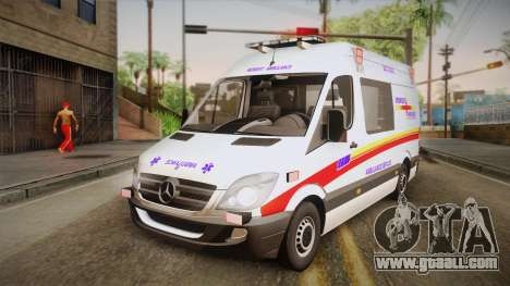 Mercedes-Benz Sprinter 2012 SA EMS Alliance for GTA San Andreas