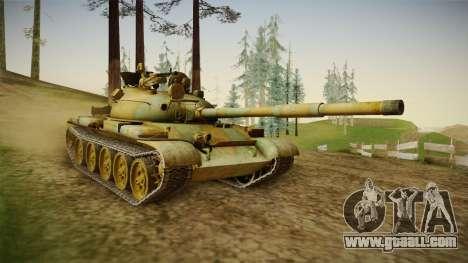 T-62 Desert Camo v2 for GTA San Andreas