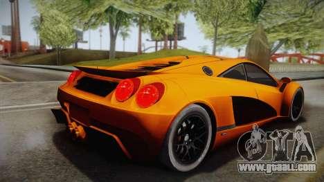HTT Plethore LC750 2012 for GTA San Andreas