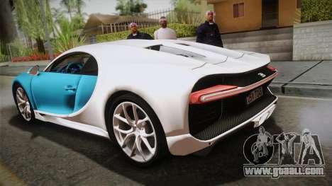 Bugatti Chiron 2017 v2.0 Korean Plate for GTA San Andreas left view