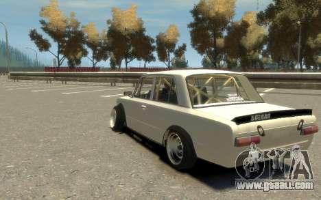 VAZ 2101 Combat Classic (Paul Black prod.) for GTA 4 left view
