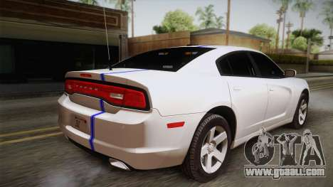 Dodge Charger 2013 Undercover for GTA San Andreas left view