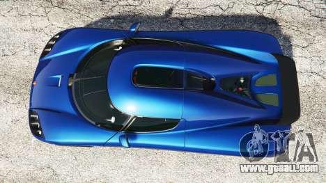 GTA 5 Koenigsegg CCX 2006 [Autovista] v2.0 [replace] back view