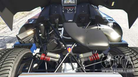 GTA 5 Koenigsegg CCX 2006 [Autovista] v2.0 [replace] right side view
