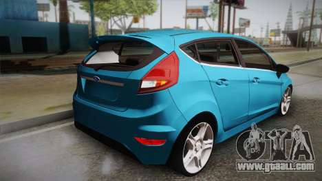 Ford Fiesta Kinetic Design for GTA San Andreas left view
