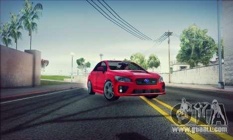 Subaru WRX 2015 for GTA San Andreas