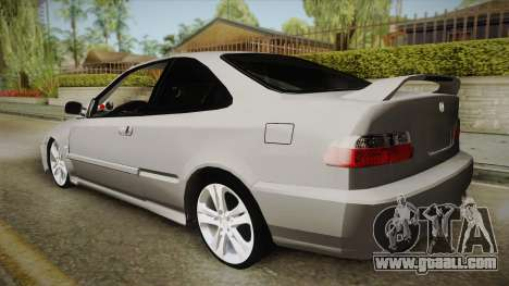 Honda Civic Coupe DX 1995 for GTA San Andreas left view