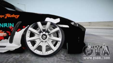 Mazda RX-8 VIP Stance Shimakaze Itasha for GTA San Andreas back left view