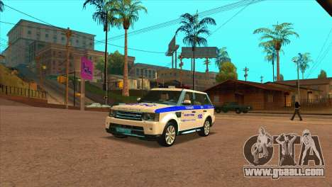Range Rover Sport ДПС for GTA San Andreas left view