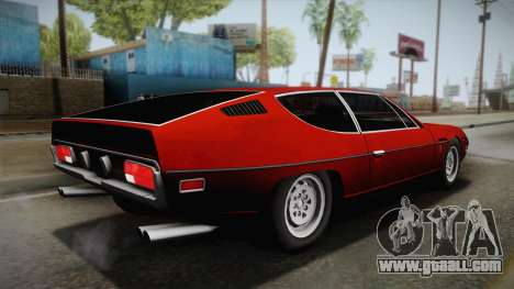 Lamborghini Espada S3 39 1972 for GTA San Andreas left view