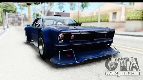 GTA 5 Declasse Tampa Drift for GTA San Andreas back left view