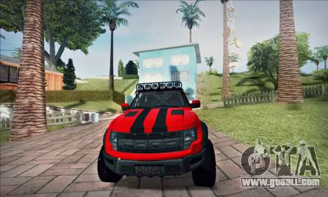 Ford F150 Raptor Long V12 for GTA San Andreas right view