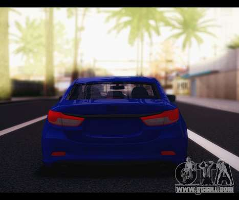 Mazda 6 Stance for GTA San Andreas right view