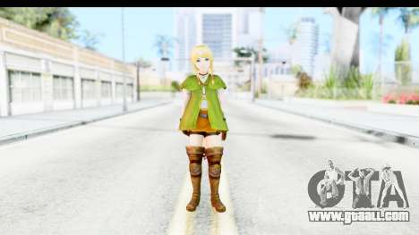 Hyrule Warriors - Linkle for GTA San Andreas second screenshot