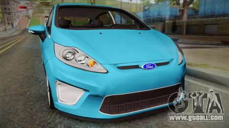 Ford Fiesta Kinetic Design for GTA San Andreas right view
