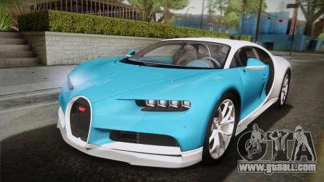 Bugatti Chiron 2017 v2.0 Korean Plate for GTA San Andreas