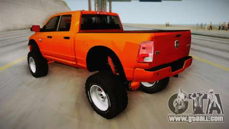 Dodge Ram 2500 Lifted Edition for GTA San Andreas