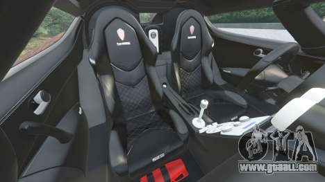 GTA 5 Koenigsegg CCX 2006 [Autovista] v2.0 [replace] steering wheel