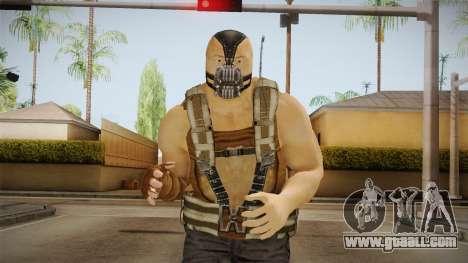 The Dark Knight Rises - Bane for GTA San Andreas