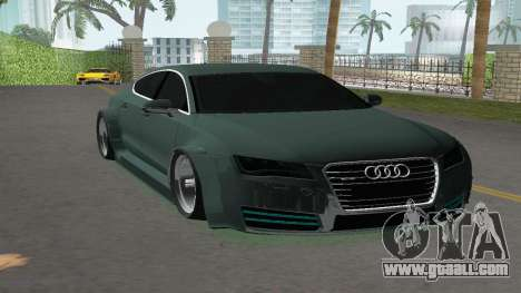 Audi A7 Sportback for GTA Vice City