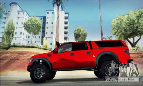Ford F150 Raptor Long V12 for GTA San Andreas left view