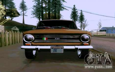 Fiat 124 for GTA San Andreas right view