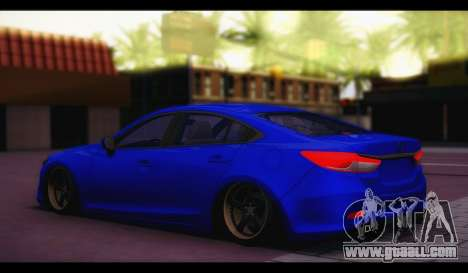 Mazda 6 Stance for GTA San Andreas left view