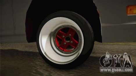 Honda Integra Type R for GTA San Andreas back view