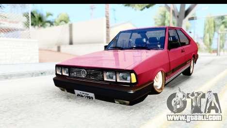 Volkswagen Passat Pointer GTS 1.8 1988 for GTA San Andreas