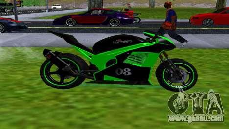 NRG-500 SLS SPORTS for GTA San Andreas