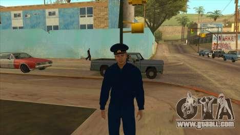 The Prosecutor in jacket PN for GTA San Andreas third screenshot