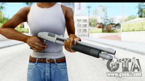 Tactical Mossberg 590A1 Chrome v3 for GTA San Andreas