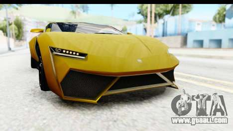 GTA 5 Pegassi Reaper IVF for GTA San Andreas bottom view