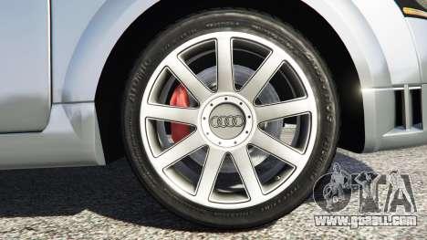 GTA 5 Audi TT (8N) 2004 [replace] rear right side view