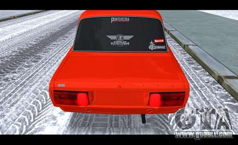 VAZ 2105 patch v3 for GTA San Andreas back view