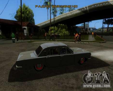 GAZ 2401 for GTA San Andreas left view