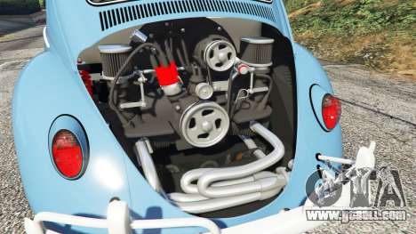 GTA 5 Volkswagen Fusca 1968 v0.9 [replace] right side view