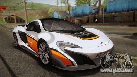 McLaren 675LT 2015 10-Spoke Wheels for GTA San Andreas wheels