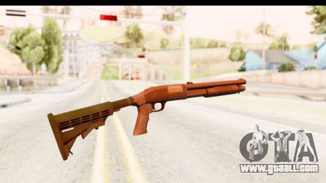 Tactical Mossberg 590A1 Black v2 for GTA San Andreas second screenshot