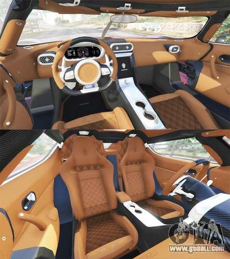 GTA 5 Koenigsegg Regera 2016 v1.1a [add-on] steering wheel