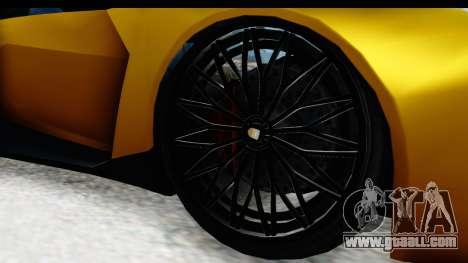 GTA 5 Pegassi Reaper IVF for GTA San Andreas back view