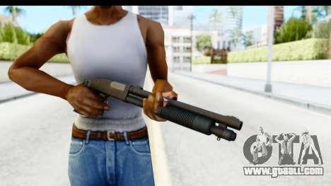 Tactical Mossberg 590A1 Black v3 for GTA San Andreas third screenshot