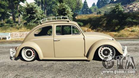 GTA 5 Volkswagen Fusca 1968 v0.8 [replace] left side view