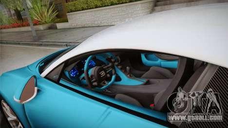 Bugatti Chiron 2017 v2.0 Korean Plate for GTA San Andreas inner view