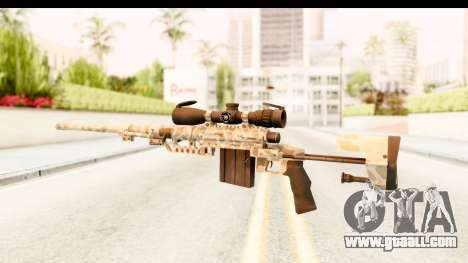 Cheytac M200 Intervention Desert Camo for GTA San Andreas second screenshot