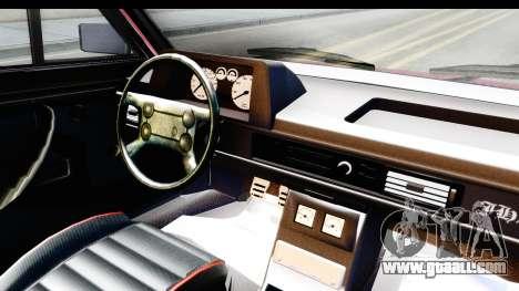 Volkswagen Passat Pointer GTS 1.8 1988 for GTA San Andreas inner view