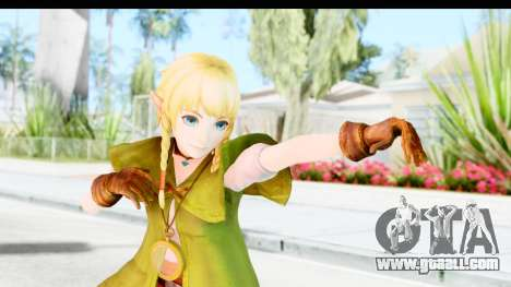 Hyrule Warriors - Linkle for GTA San Andreas
