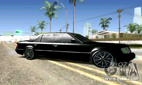 Mercedes-Benz E500 W124 for GTA San Andreas left view