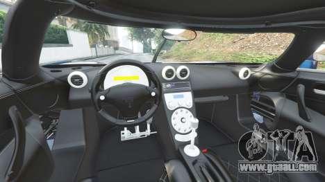 GTA 5 Koenigsegg CCX 2006 [Autovista] v2.0 [replace] front right side view